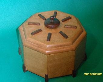 Hexagonal modern style jewelry box