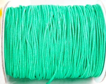 10m macrame belt 0.8, turquoise #3694