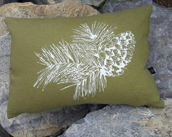 Pinecone Pillow