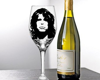 Steven Tyler, Painted Wine Glasses, Painted Wine Glass, Hand Painted Wine Glasses, Painted Glasses, White Wine, Red Wine, Stemless Glasses