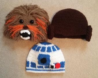 crochet star wars hats