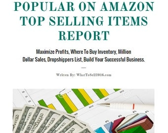 WHAT TO SELL On Amazon 2016, Million Dollar Sales, Dropshippers List, Increase Sales, Popular On Amazon, Maximize Profit