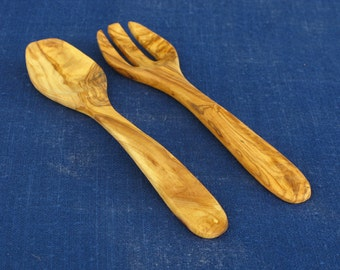 Salad Servers - Square Handle (KN0016S1)