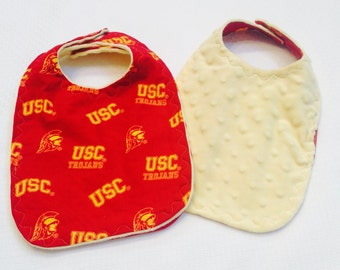 USC Trojans Baby Bib