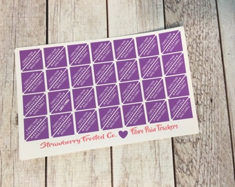 Fibromyalgia Pain Tracking Planner Stickers- Fibro Pain Tracking- Made to fit Vertical or Horizontal