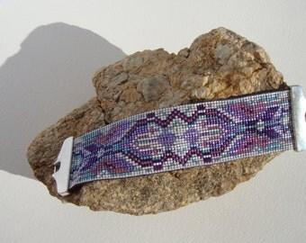 woven chic boho Cuff Bracelet