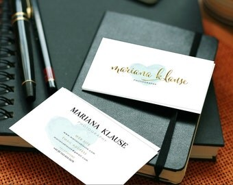 Business Card  Design Photography Business Card - Front & Back