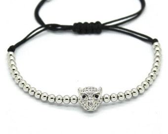 Crystal Tiger Bracelet