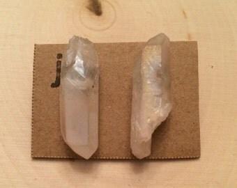 Blush Crystal Studs