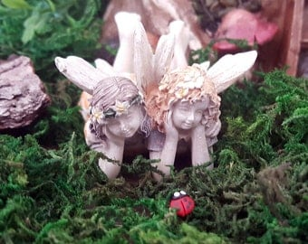 Miniature Fairies Iris and Lyla