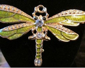Dragonfly Brooch