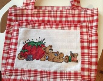Work bag-embroidery