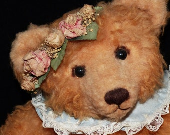 Wendy McTavish Teddy Bear Handmade Artist Bear  Ontario OOAK - 658