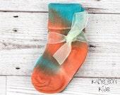 Tie Dye Baby Socks - Oran...