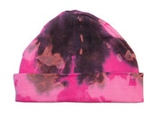 Pink Baby Hat -Hand Dyed ...