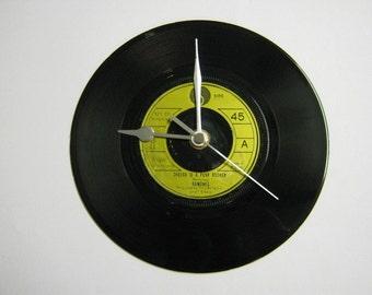 "The Ramones - ""Sheena Is A Punk Rocker"" Record Wall Clock"