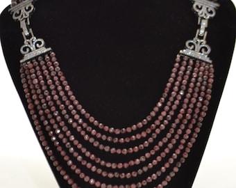 Jewelry garnet