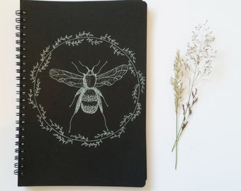 Hand drawn sketchbook cover