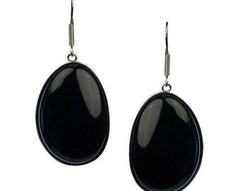 Organic Onyx Bliss Earrings