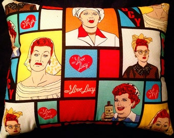 I Love Lucy Pillow