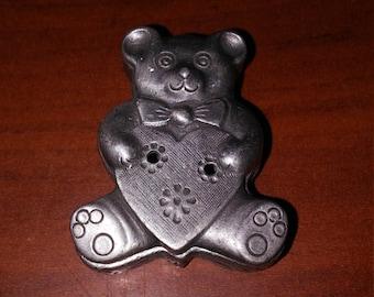 Teddy Bear Pin / Trinket box