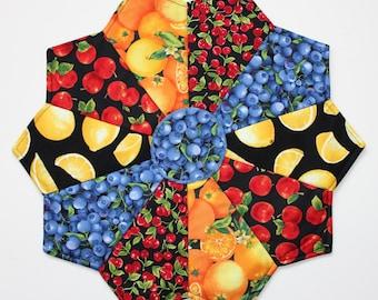 Slice of Fruit Pizza Table Topper