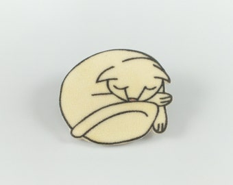 "Brooch ""Cat"""