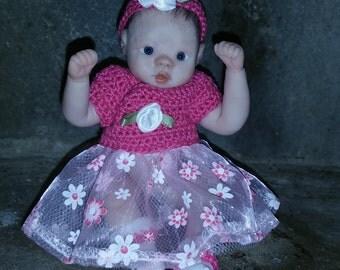 5 inch ooak babygirl