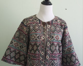 Thai handwoven jacket