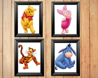 Winne the pooh Picture Frames Decor ( 11x14 ) frames