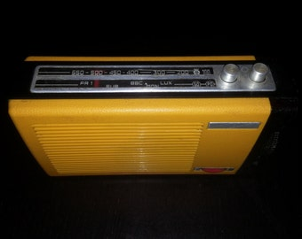 OPTALIX transistor radio design 70s 80s Vintage