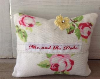 Floral Pin Cushion