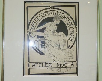 Cours De Composition D'Art Decoratif Atelier Mucha