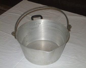 aluminium Jam Pot