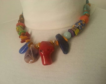 Necklace with original beads 1
