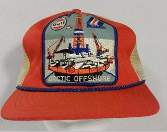 Gulf Artic offshore Vintage hat.