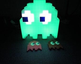 Perler bead Pacman Ghost
