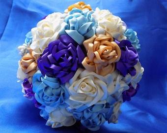 Bridal Bouquet Handmade ribon