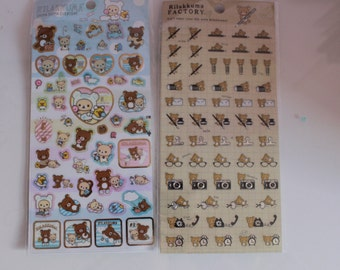 Kawaii/ Cute Rilakkuma stickers