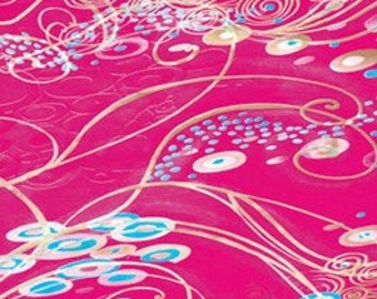 Decopatch Paper 414, Decopatch paper, decoupage paper, craft paper, scrapbook paper, pink paper, patterned paper