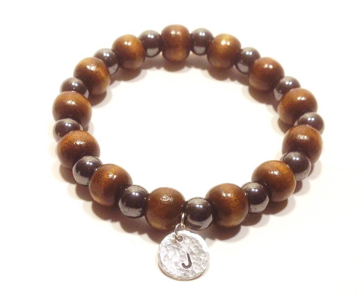 personalized mens bracelet bracelet for him