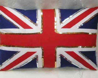 Hand made Union Jack Cushion!