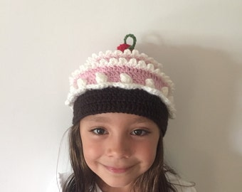 Crochet: Cute Children caps Fruits and Cupcakes