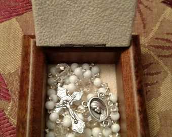 Tiny Baptismal Rosary set