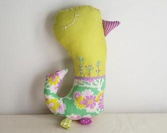 Lottie-Da Finchlet Softie (Chartreuse)