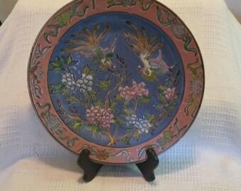 Oriental Decreative Display Plate