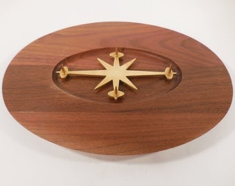 Mid century atomic carving board