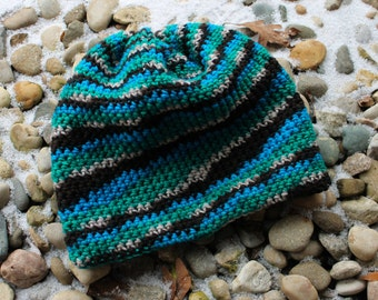Slouchy Winter Multi-Color Hat!