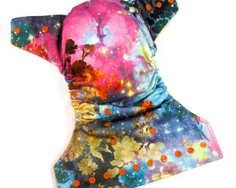 Bright Galaxy OS Cloth Pocket Diaper