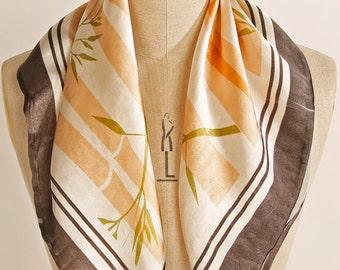 Silk Digitally Printed Scarf